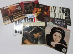 8 LPS including JOHNNY MATHIS, JOAN BAEZ, BARNEY KESSEL, JULIAN BREAM AND JOHN WILLIAMS etc