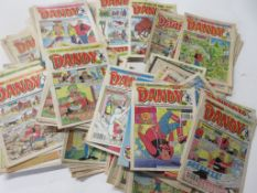 786: Approx 200 DANDY comics 1970s to early 1980s, mainly 1980s, all in good order