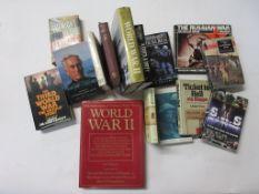 57: 16 titles military mainly Second World War including SEBASTIAN HAFFNER: DEFYING HITLER + HELLMUT