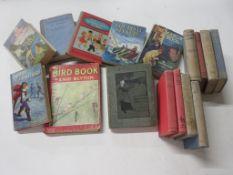 198: children's, 16 titles including E J OXENHAM: STRANGERS AT THE ABBEY + ENID BLYTON: THE BIRD