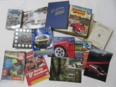 One box: early motoring interest including F J CAMM: PRACTICAL MOTORIST, hardbound full year