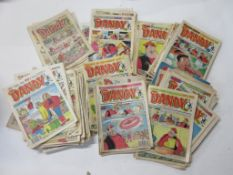 788: One box: THE DANDY comics, approx 120 issues 1970s to 1990s