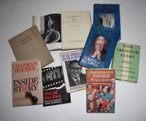 24: 9 titles politics including JOHN GALSWORTHY + GEOFFREY HOWE