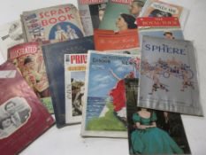 One box Royalty interest, large quantity including books and ephemera such as Coronation scrapbook