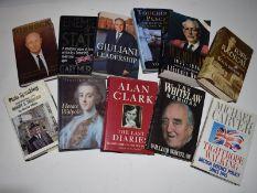 24: 11 titles politics including NEIL KINNOCK + WILLIAM WHITELAW + HORACE WALPOLE