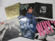 795g: 6 LPS including BRONSKI BEAT: WHY + ELECTRIC YOUTH + A-HA + WHAM: BAD BOYS + GEORGE