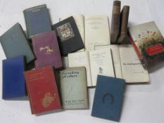 39: poetry, 14 titles including RUDYARD KIPLING: DEPARTMENTAL DITTIES + T S ELIOT: THE USE OF