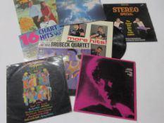 Eight assorted LPS including NANCY WILSON, THE SHADOWS, THE WONDERFUL WORLD OF REGGAE, THE DAVE