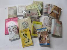 7: Box: JANE AUSTEN interest, 15 titles including DAVID CECIL: A PORTRAIT OF JANE AUSTEN +