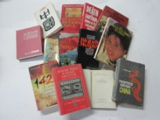 99: One box: mainly travel/China including THE SEARCH FOR MODERN CHINA + THOMAS CRUMP: THE DEATH
