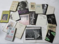 720: One box: Ballet interest, 16 titles including ALBERT KAHN: DAYS WITH LUANOVA + THE SADLER'S