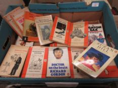 "Two boxes paperback ""Lucky Dip"" predominantly Penguin and Pan books"