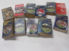 One box: Rothman's Football Year books, mainly 70s, 80s and 90s (15) + 4 similar Paninis football