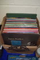BOX OF LPS, CLASSICAL MUSIC AND SOME POP MUSIC