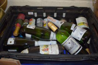 BOX CONTAINING WINES