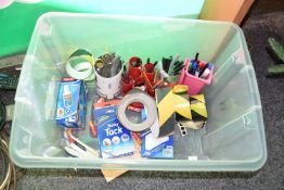 Box of office sundries