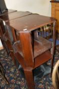 Side table, width approx 55cm, height 57cm x 6