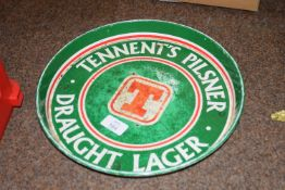 Tennants beer tray