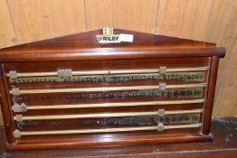 Riley snooker score board, width 70cm