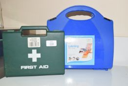 Catering first aid kit and standard first aid kit