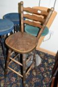 Bar stool, 113cm high