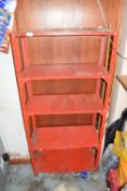 Free standing storage shelf, 70cm wide x 35cm deep x 145cm high