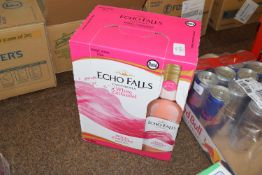Case of Echo Falls White Zinfandel wine