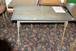 Rectangular bar table, width 60cm x 75cm high x 4