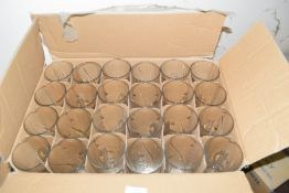 Box of 24 Carlsberg pint glasses