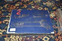 Set of Riley tournament snooker balls