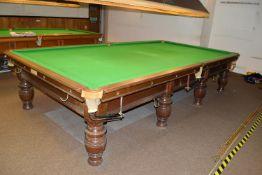 Thurston & Co full size billiards table