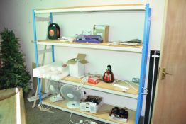 Freestanding shelves, 190cm x 180cm x 50cm