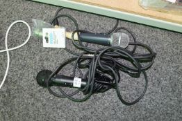 Pair of wired microphones