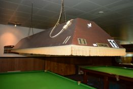 Riley traditional full size snooker table lighting shade