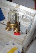 Burner fuel filter complete
