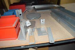 Shelf of spare parts