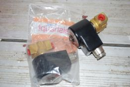 Weishaupt Solenoid valve 110v 19w x 2 normally closed