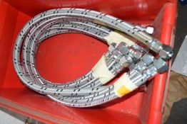 Half inch oil hose x 6