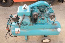 Compressor single phase twin air compressor