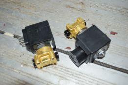 Solenoid valve 2-stage burner 220v