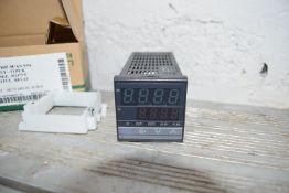 Air off/burner temperature controller