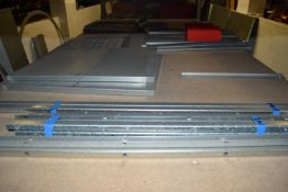 Shelf of door parts