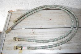 3/8 inch oil hose x 2