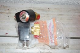 Weishaupt Solenoid valve 110v 20w x 2 normally closed