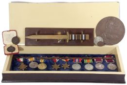 Group: Army long service and good conduct medal, Victoria swivelling scroll suspension to 30734