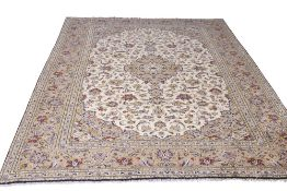Fine quality modern Keshan carpet, 2.9m x 2m