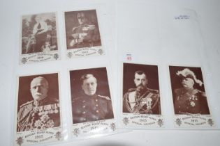 SMALL QUANTITY OF WWI POSTCARDS