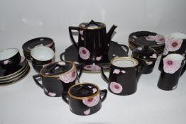 PART TEA SET DESIGNED BY DELVAUX PARIS
