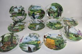COLLECTORS PLATES, WEDGWOOD AND OTHERS, FROM THE WHEATFIELDS COLLECTION