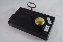 VINTAGE METAL DOOR LOCK